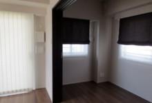 ひとり暮らしのお部屋のカーテン