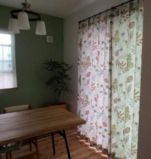 VillaNovaのカーテン