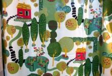 スウェーデンファブリック 「シナマーク」のカーテンで北欧のお部屋に!