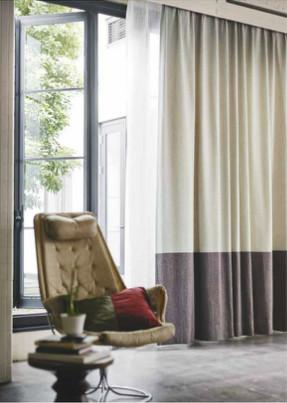フジエテキスタイルの FA6606 のカーテン